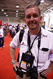 Robin Rowland at the 2006 AIDS conference