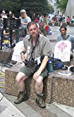 Covering the CBC lockout in AUgust 2005
