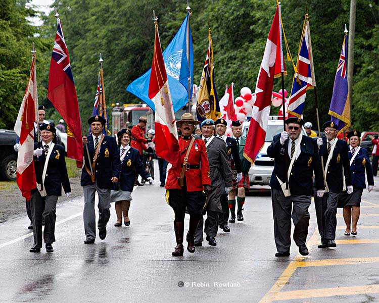 Legion, RCMP lead the parade
