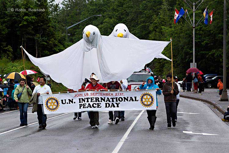 Canada Day Parade in Kitimat, July 1, 2012