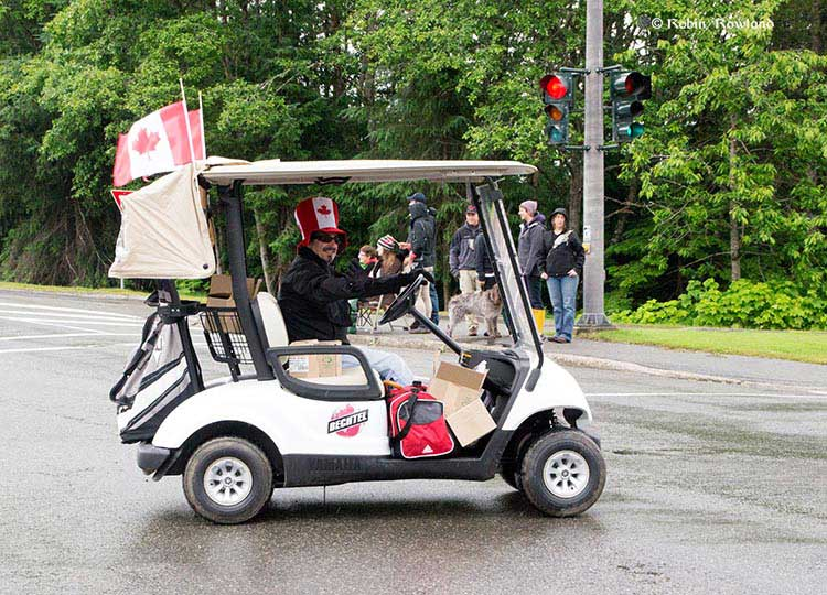 Bechtel golf cart