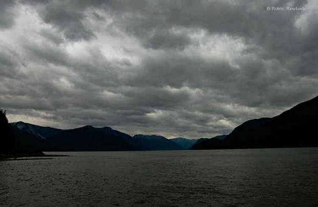 Storm over the Skeena River