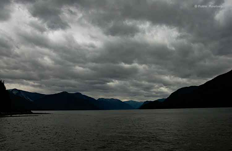Storm warning on the Skeena