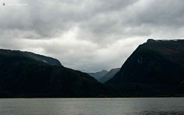 Stormy weather on the Skeena