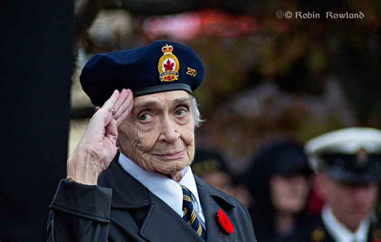 Remembrance Day 2013 in Kitimat, BC