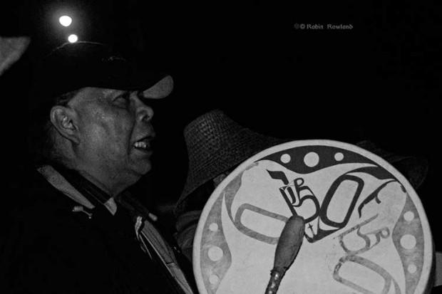 Haisla drummer