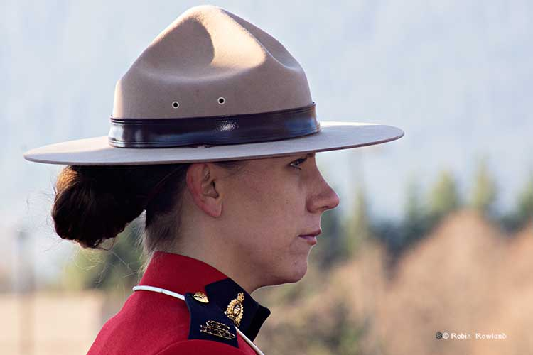 Guard of Honour Mountie