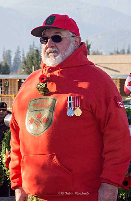 Guard of Honour Canadian Ranger