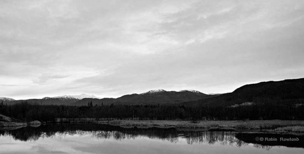 Lagoon in the Kitimat estuary
