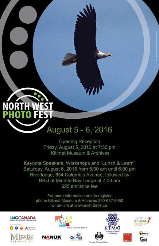 North West Photo Fest 2016 poster.
