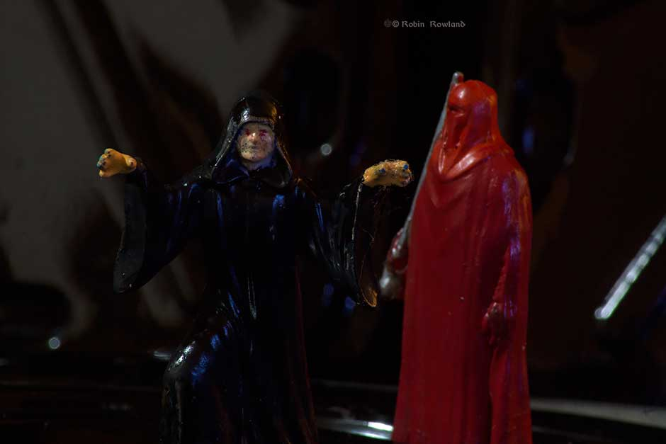 Emperor Palpatine and his Star Wars Command guards. (Robin Rowland)