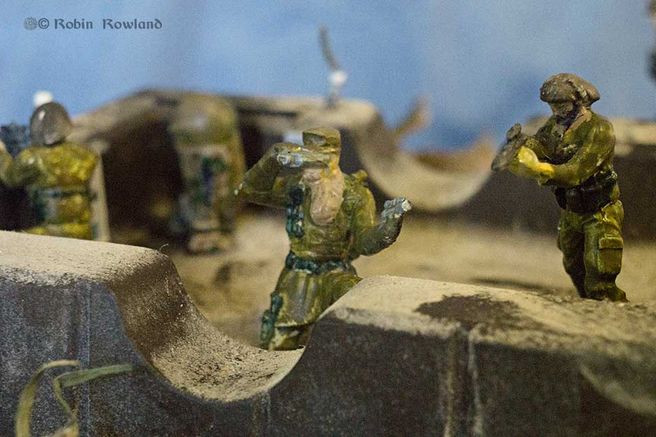 Star Wars in camo II.  A forward observation post on the front line