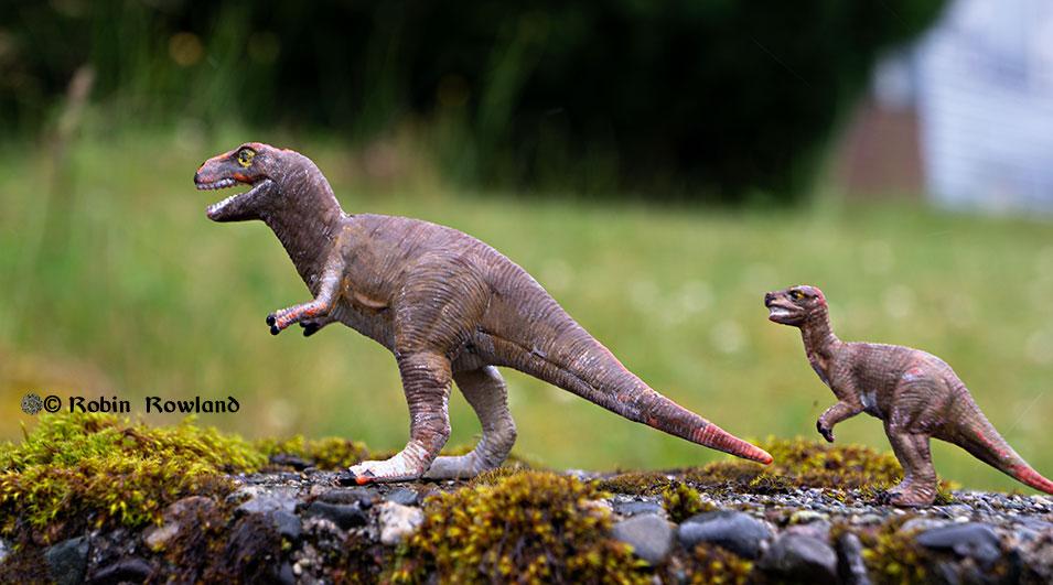 Dollar Store Dinosaurs
