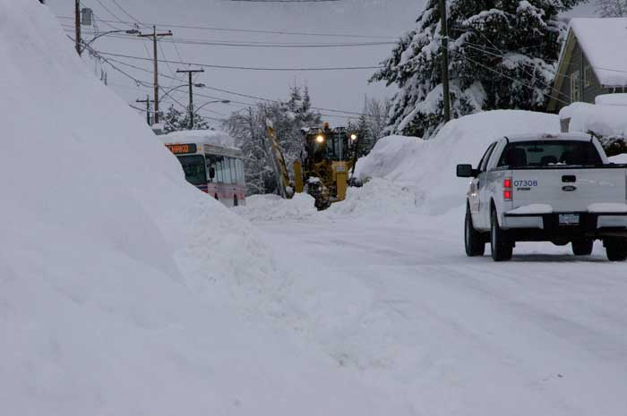 Snow clearing Jan 23