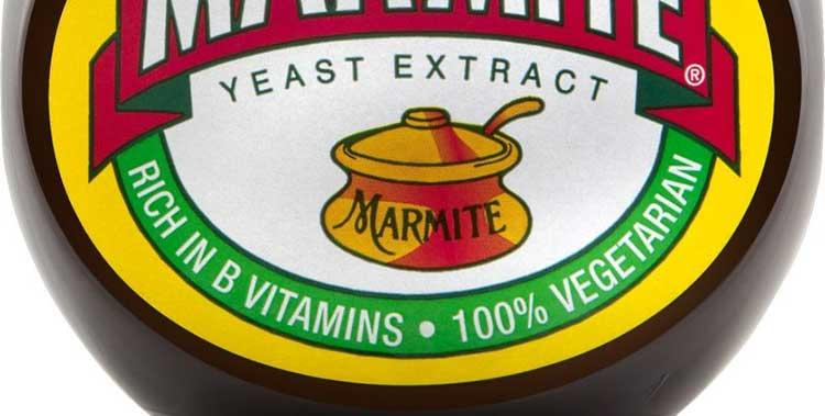 Marmite label